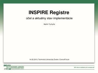 INSPIRE Registre
