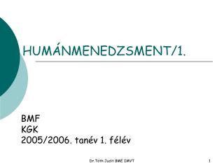 HUMÁNMENEDZSMENT/1.
