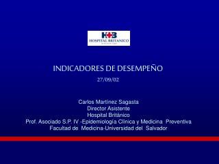 INDICADORES DE DESEMPEÑO 27/09/02