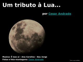 Um tributo à Lua...
