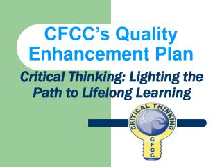 CFCC s Quality Enhancement Plan