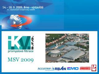 MSV 2009