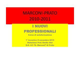 MARCONI-PRATO 2010-2011