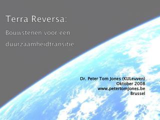Terra Reversa: Bouwstenen voor een duurzaamheidtransitie
