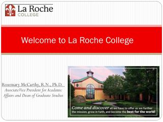 Welcome to La Roche College