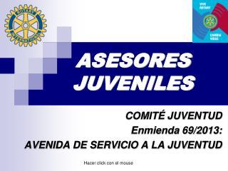 ASESORES JUVENILES