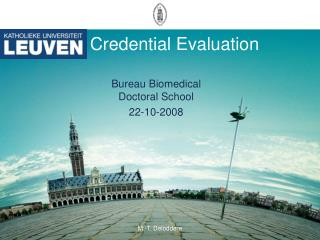 Credential Evaluation