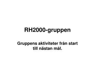 RH2000-gruppen