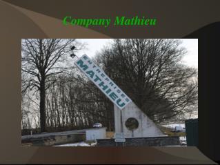 Company Mathieu