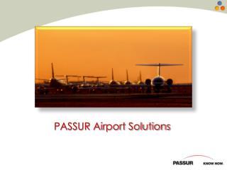 PASSUR Airport Solutions