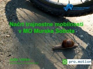 Načrt trajnostne mobilnosti v MO Murska Sobota