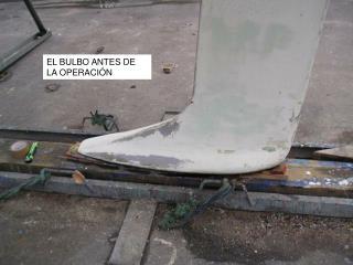 EL BULBO ANTES DE LA OPERACIÓN