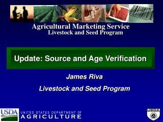 Livestock and Seed Program