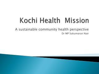 Kochi Health  Mission
