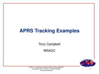 APRS Tracking Examples