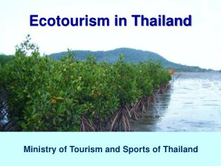 Ecotourism in Thailand
