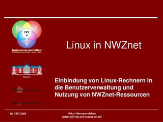Linux in NWZnet