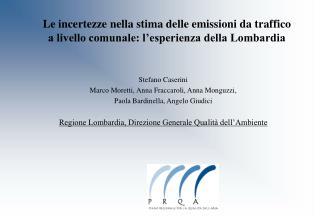 Stefano Caserini Marco Moretti, Anna Fraccaroli, Anna Monguzzi,  Paola Bardinella, Angelo Giudici