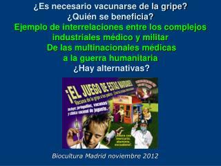 Biocultura Madrid noviembre 2012