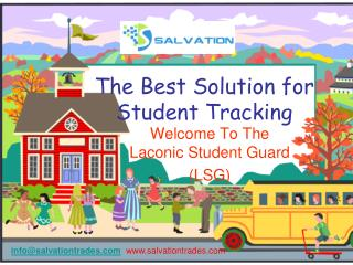 The Best Solution for Student Tracking