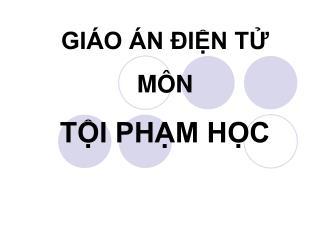 GI O  N  IN T M N TI PHM HC