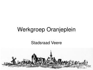 Werkgroep Oranjeplein
