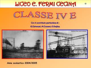 LICEO E. FERMI CECINA