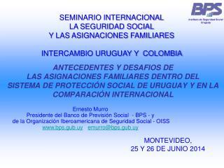 MONTEVIDEO,  25 Y 26 DE JUNIO 2014