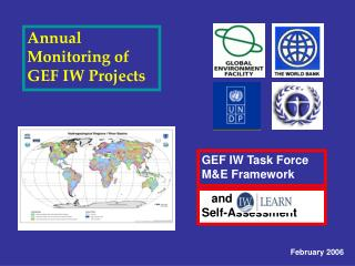 Annual Monitoring of GEF IW Projects