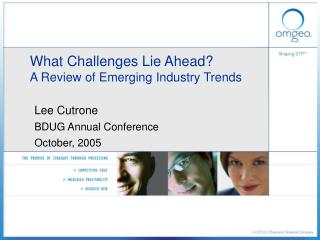 What Challenges Lie Ahead? A Review of Emerging Industry Trends