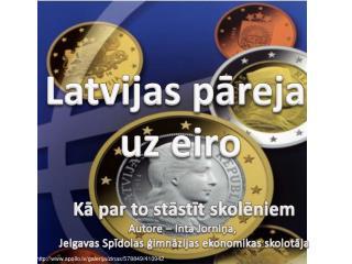 Latvijas p?reja  uz eiro