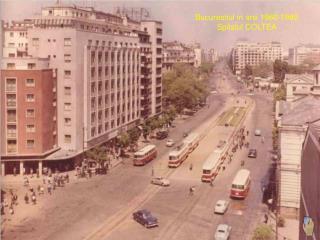 Bucurestiul in anii 1960-1980 Spitalul COLTEA