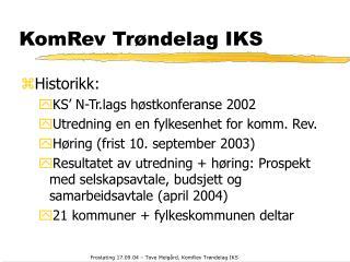 KomRev Trøndelag IKS