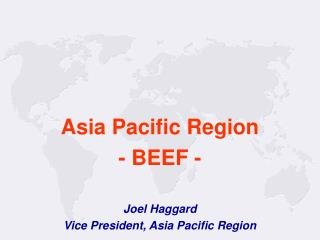 Asia Pacific Region - BEEF -