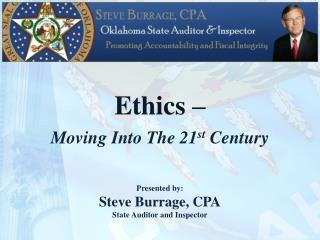 Ethics –