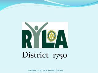 District  1750