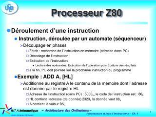 Processeur Z80
