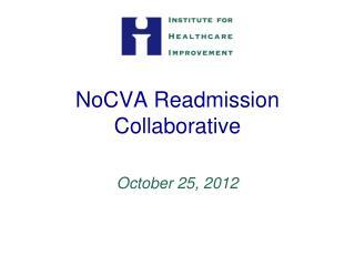 NoCVA Readmission Collaborative