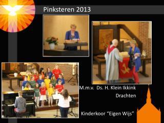 Pinksteren 2013