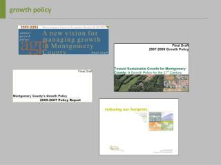 Growth policy