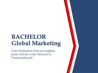 BACHELOR Global Marketing