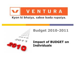 Impact of BUDGET on Individuals