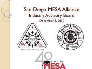 San Diego MESA Alliance Industry Advisory Board