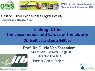 Session: Older People in the Digital Society