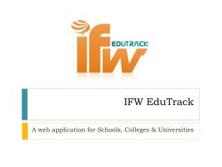 IFW EduTrack