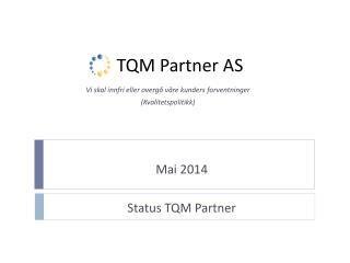 TQM Partner AS