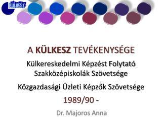 Dr. Majoros Anna