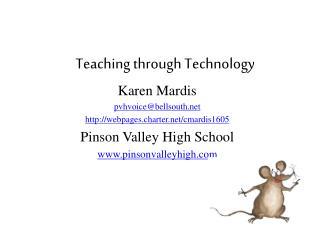 Teaching through Technology