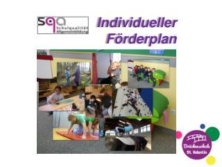 Individueller F�rderplan