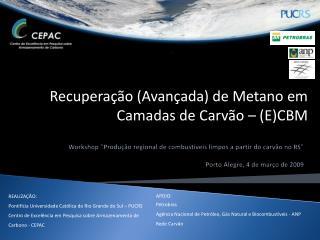 REALIZA��O: Pontif�cia Universidade Cat�lica do Rio Grande do Sul � PUCRS